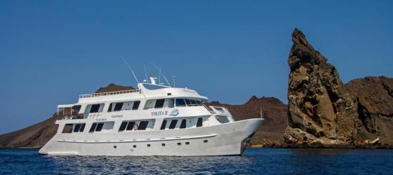 Cruise the Galapagos on the Yolita II ship